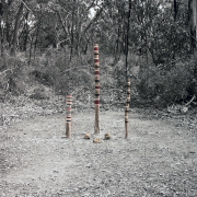 Totem Poles Land Markers